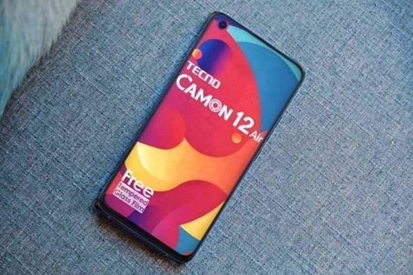 Tecno Camon 12 Air स्मार्टफोन भारत में लॉन्च, यह है अब तक का सबसे सस्ता पंचहोल डिस्प्ले वाला फोन