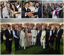 बॉलीवुड सेलेब्स ने PM मोदी के साथ ली जमकर सेल्फी, एक्साइटेड...