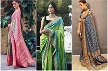 नताशा-आलिया और जान्हवी ने पहनी एक जैसी साड़ी, कौन लग रहा है...
