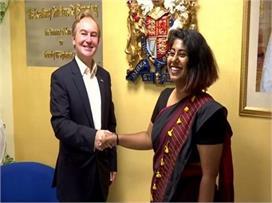 एक दिन के लिए ब्रिटिश डिप्टी हाई कमिश्नर बनीं भारत की...