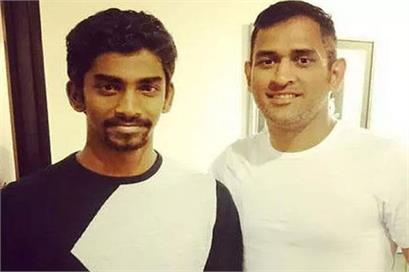 dhoni himself