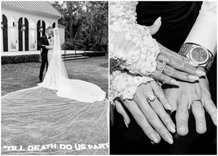 154 वीआईपी गेस्ट की मौजूदगी में जस्टिन बीबर ने रचाई शादी, तस्वीरें...
