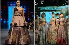 इंडिया रनवे वीक: दुल्हन बन रैंप पर उतरीं मॉडल्स, तीसरे दिन...