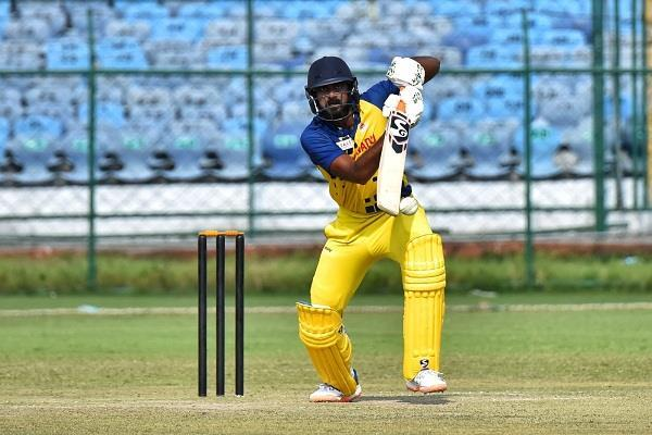 defeating baroda by 7 wickets