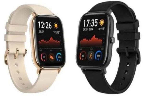 Huami कंपनी ने लॉन्च की नई Amazfit GTS स्मार्टवॉच, मिलेगी 14 दिनों की बैटरी लाइफ