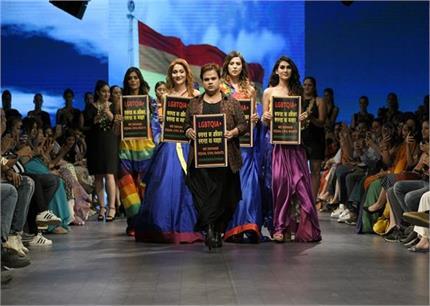 इंडिया रनवे वीकः बॉलीवुड एक्ट्रेसेज ने दिखाया ट्रेडिशनल जलवा, LGBTQ...