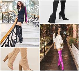 Winter Fashion: सिंपल नहीं ट्राई करें थाई-हाई लॉन्ग बूट्स