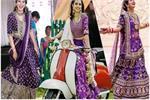 Wedding Fashion:इस बार पैस्टल नहीं ऑबर्जिन कलर के लहंगे करें ट्राई