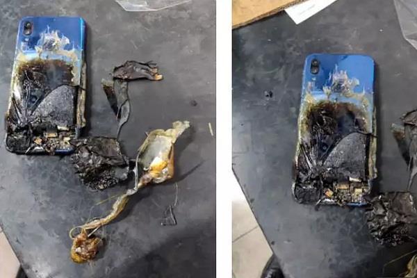 शाओमी के Redmi Note 7S में लगी आग, कम्पनी ने यूजर को ठहराया दोषी