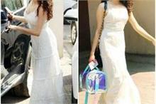 Fashion ! 4 लाख के सतरंगी बैग को कैरी करते नजर आई जान्हवी