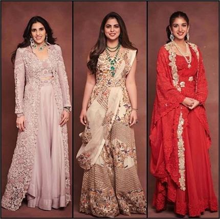 Best Outfit: एक ही डिजाइनर की इंडो-वेस्टर्न ड्रेस में नजर आई अंबानी...