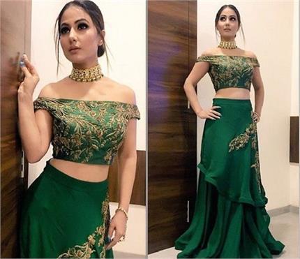 Wedding Fashion: शादी की किसी भी रस्म में पहन सकती है हिना की ये...