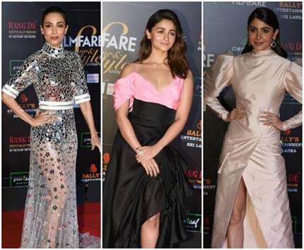 Filmfare Awards: मलाइका से लेकर मौनी तक, देखिए हॉट दीवाज की ग्लैमर्स...
