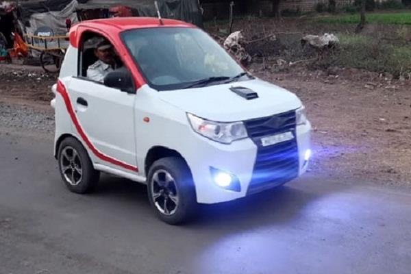 ये है भारत की मॉडिफाइड कार, हो सकती है कहीं भी फिट