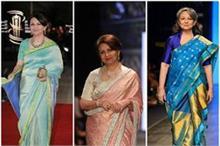 75 की उम्र में भी एक्ट्रेस को मात देती हैं शर्मिला, देखिए...