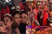Christmas Party: यूं करीना के घर पहुंची पूरी गर्लगैंग, आपको...