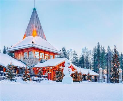 12 महीने बर्फ से ढका रहता है सांता क्लॉज का इकलौता गांव (See Pics)