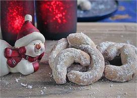 क्रिसमस स्पैशल: पार्टी के लिए बनाएं टेस्टी वेनिला क्रिसेंट
