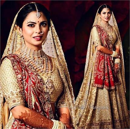 Fashion Icon: शादी में मां की इस अनमोल चीज को साथ लेकर सजी थी ईशा...