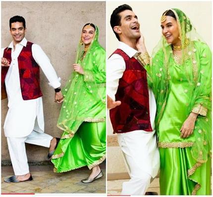 राज और सिमर बने नेहा-अंगद, पंजाबी लुक में नजर आई जबरदस्त कैमिस्ट्री