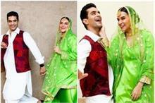 राज और सिमर बने नेहा-अंगद, पंजाबी लुक में नजर आई जबरदस्त...