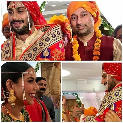 गर्लफ्रेंड सान्या के हुए प्रतीक बब्बर, देखिए शादी की खूबसूरत तस्वीरें