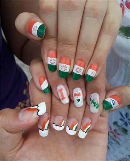 Republic Day पर ट्राई करें ये यूनिक Nail Arts Ideas