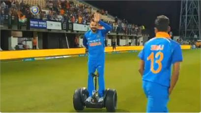 team india won