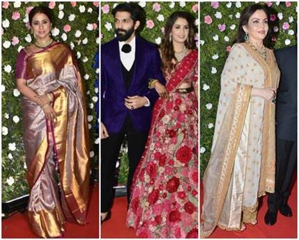 Amit Thackeray Reception: नीता अंबानी के आगे फेल हुआ बॉलीवुड फैशन