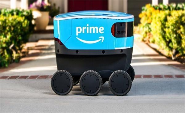 Amazon लाने जा रही है डिलिवरी रोबोट, शुरू हुई टेस्टिंग