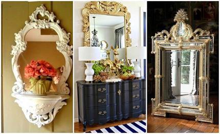 Ornate Mirrors से घर को दें रॉयल टच