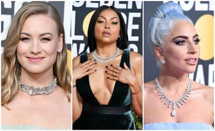 Golden Globe 2019: आउटफिट नहीं रैड कार्पेट पर दिखा ज्यूलरी का क्रेज...