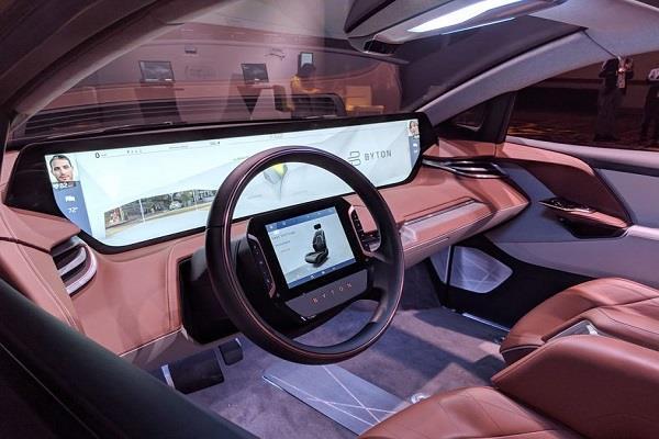 CES 2019: Byton ने पेश की 49 इंच स्क्रीन से लैस इलेक्ट्रिक एसयूवी M-Byte