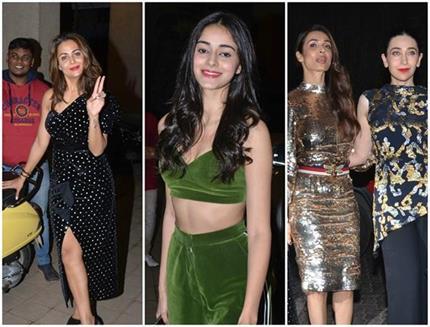 डायरेक्टर पुनीत की पार्टी में ग्लैमर्स अंदाज में पहुंचे सितारें,...