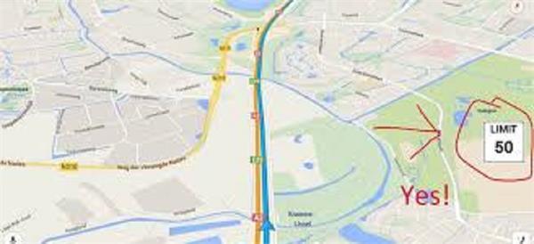 अब अमेरिका में Google Maps बताएगा स्पीड लिमिट