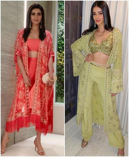 Bollywood Fashion: सेलेब्स का फेवरेट इंडो-वेस्टर्न लुक आप भी करें...