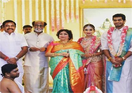 रजनीकांत की बेटी सौंदर्यां ने रचाई दूसरी शादी, जानें क्यूं टूटा पहला...