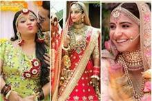 10 खूबसूरत सेलिब्रिटी Brides, किसका Wedding Look बना आपका...