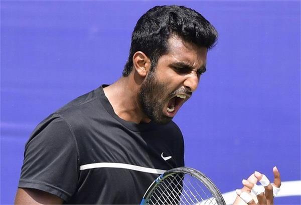 indian tennis player prajnesh