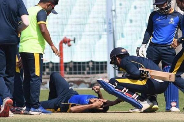 ashok dinda injured