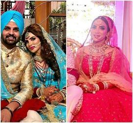 Yuvraj-Mansi Wedding! देखिए मानसी की Portrait मेहंदी से...