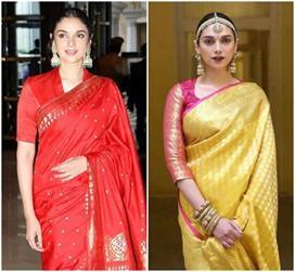 Aditi rao hydari s 8 saris look
