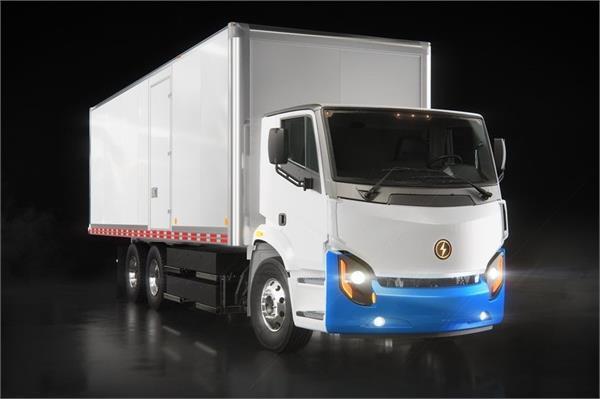 कनाडा में बना शहरी इलाकों के अंदर चलाने वाला इलैक्ट्रिक ट्रक