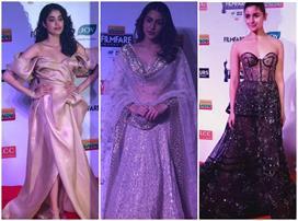 Filmfare Awards: सारा के डीसेंट लुक के आगे फीकी पड़ी...