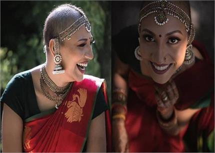 2 बार कैंसर को मात देकर महिला ने करवाया ब्राइडल फोटोशूट, लोगों के लिए...