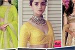 Fashion: आलिया के 10 डिजाइनर लहंगे, हर लड़की की पसंद