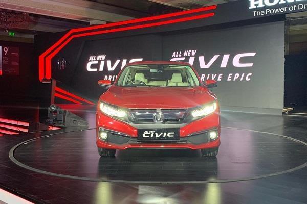 नए फीचर्स के साथ 2019 Honda Civic भारत में लांच
