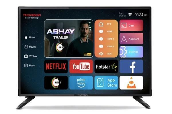 Thomson ने लॉन्च किया भारत का पहला 40-इंच 4K स्मार्ट TV , कीमत 20,999 रुपए