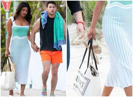 Miami Vacation: प्रियंका ने कैरी किया Tote Bag, कीमत कर देगी हैरान