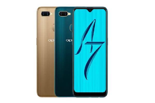 Oppo A7 और Oppo A5 की कीमत घटी, अब कीमत 11,990 रुपए से शुरू